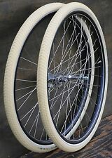 "Antique Bicycle 28"" WHEELS Vintage Schwinn New Departure Hub Wood Rim Bike Tires"