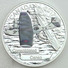 2017 $20 Aircraft of The Second World War: Consolidated Canso Pure Silver Proof
