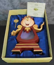 New Rare Disney Limited Edition Cogsworth the Clock from Beauty and the Beast