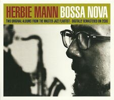 HERBIE MANN BOSSA NOVA - 2 CD BOX SET - FROM THE MASTER JAZZ FLAUTIST