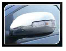 CHROME SIDE MIRROR COVER TRIM FOR 4 DOOR TOYOTA COROLLA ALTIS 2008-2012