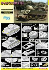 1/35 Dragon Sherman M4A3 75(W) ETO #6698