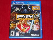 ANGRY BIRDS STAR WARS PSVITA FACTORY SEALED!!!  MUST L@@K!!! FREE SHIPPING!!!