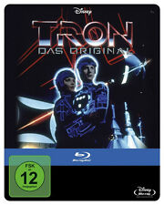 TRON Steelbook JEFF BRIDGES Bruce Boxleitner DAVID WARNER BLU-RAY Nuevo