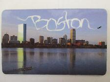 Skywriter Boston Skyline - Massachusetts Souvenir Fridge Magnet