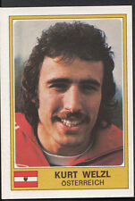 Football Sticker - Panini Euro Football 1976 - No 216 - Kurt Welzl - Austria