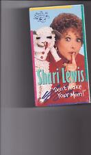 SHARI LEWIS AND LAMBCHOP DON'T WAKE YOUR MOM!  VHS  NEW/SEALED!