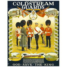His Majesty's Coldstream Guards Deco Magnet, WW1 Propaganda Poster Military