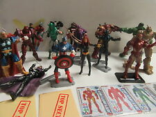 "Marvel Universe 3.75"" Avengers Lot Black Panther Iron Man Custom 16 Figures"