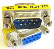 Serial Cable Adapter / RS232 Extender, DB9 9-Way Plug to Socket (Male-Female)