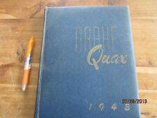 1943 Drake University (Iowa) Quax Yearbook