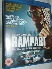 RAMPART  Woody Harrelson, Ned Beatty BLU RAY