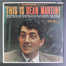 DEAN MARTIN: This Is Dean Martin LP (Star Line issue, Duophonic, shrink) Vocali