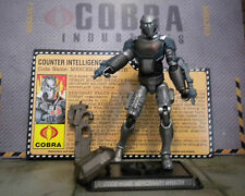 GI JOE ~ 2008 MERCENARY WRAITH ~ COUNTER INTELLIGENCE 100% complete & card