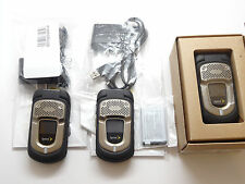 Lot of 3 Kyocera DuraXT E4277 Black Sprint Cell Phones Working Clean ESN 1 New