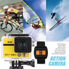Sale Waterproof WIFI Action Camera Outdoor Zoom Diving slow motion time lapse 4K