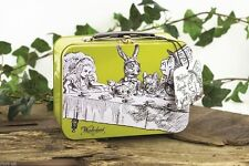 Alice In Wonderland Lunch Box TIn :RETRO : Mad Hatter Tea Party :WH3 : 303 : NEW