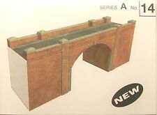 SQ14   SUPERQUICK RED BRICK  BRIDGE / TUNNEL   A14    KIT