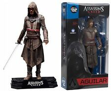 "Assassin's Creed Movie AGUILAR 7"" Figure McFarlane Color Tops Blue Wave #12"