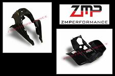 NEW SUZUKI LT250R PLASTIC BLACK RACE FRONT AND REAR FENDER SET PLASTICS LT 250R