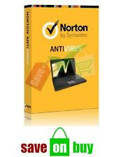 Norton Antivirus 2017 - 1 User, 1 PC, 1 Year (Windows) with Installation USB