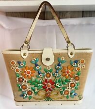 VINTAGE ENID COLLINS PURSE JEWEL BOKAY HANDBAG