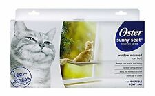 Oster Sunny Seat Window-Mounted Cat Bed 50 lbs New