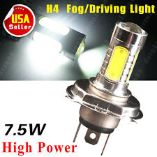 1X White H4 HB2 9003 7.5W COB High Power Fog DRL Driving Daytime Running Light