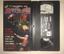 WWF - St. Valentine's Day Massacre: In Your House '99 (VHS, 1999) WWE WCW NWO