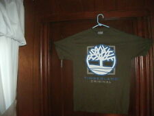 NikeBauer label t-shirt S/S green with timberland boxyback size small BRAND NEW