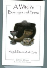 PATRICIA TELESCO A Witch's Beverages & Brews Magick Potions TPB 2001 Illustrated