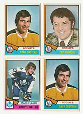 ARMAND BEP GUIDOLIN 74-75 O-PEE-CHEE 1974-75 NO 34 EX+  9175