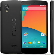 New Original LG Nexus 5 D820 16GB Black (Unlocked) Android Smartphone 8MP 4.95""