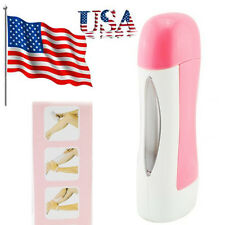 USA Depilatory Roll On Wax Heater Roller Waxing  Cartridge Hair Removal Warmer