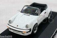 1:43 GENUINE HIGHSPEED DIECAST 1983 Porsche 911 SC Cabrio 3.0 Car White Model