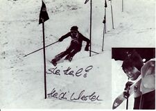 Heidi Wiesler: ski alpin jun WM 3.1977 riesenslalom ger
