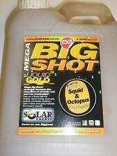 Solar Squid + Octopus  Mega Shot Liquid Glug 1 litre Carp fishing