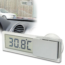 Suction On Car Windscreen Or Auto Rear View Mirror Digital Display Thermometer