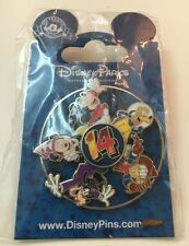 DLRP 2014 FAB FIVE SPINNER SORCERER MICKEY MINNIE PLUTO DONALD DISNEY PIN NEW
