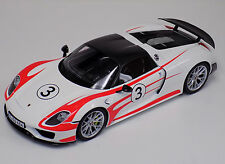 1/12 GT Spirit Porsche 918 Spyder Weissach Package Limited to 500 GT078