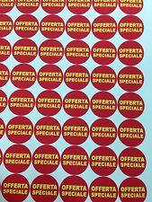 Etichette adesive 3,5cm Tonde in Vinile - no Carta Qtá 1134pz ANCHE F.TO DIVERSO