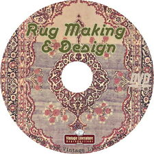 Rug Making and Design { History & How To Make Your Own Carpets } on DVD