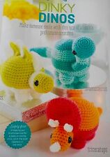 CROCHET PATTERN 3 Dinky Dinosaurs Toy Animal Childrens Doll Dinosaur PATTERN