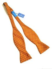 Southern Tide Bow Tie 100% Silk Skipjack Copper Fish Made in Italy NWT