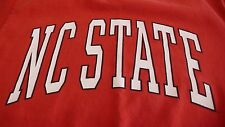 VINTAGE NC NORTH CAROLINA STATE RED LARGE (L) T-SHIRT MADE IN USA