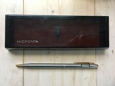 Vintage Micronta Led Writing Pen In Case ! Not Working!