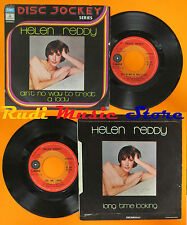 LP 45 7'' HELEN REDDY Ain't no way to treat a lady 1975 italy CAPITOL cd mc dvd
