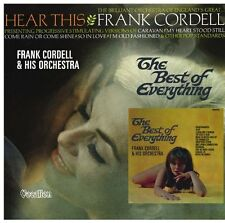Frank Cordell & His Orchestra The Best of Everything & Hear This - CDLK4469