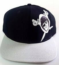 NEW!  Oakland Raiders Embroidered Adjustable Snap Back Vintage Collecttion cap