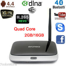 CS918T Quad Core Android 4.4 Smart TV Box XBMC WiFi 1080P Media Player 2G/16G UK